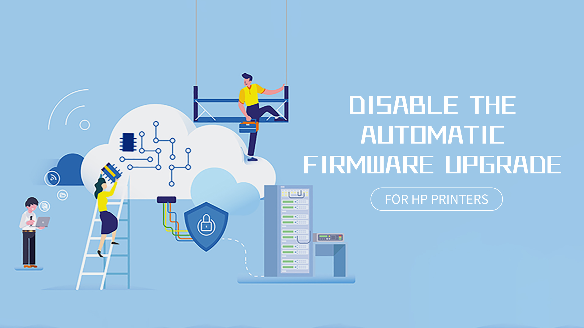"Chipjet's Method——How to Disable the ""Automatic Firmware Update"" of HP Printers?"